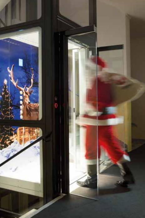 Xmas Lift Arno Manetti con Babbo Natale