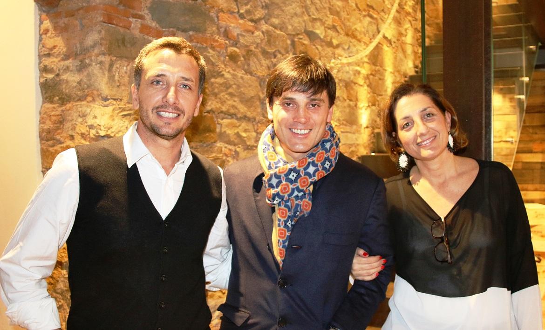 Francesca e Maso Manetti con Vincenzo Montella