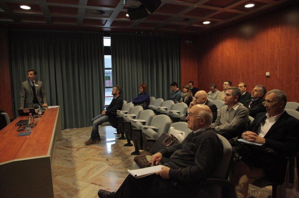 L'ing. Maso Manetti durante il workshop a Condomini Expo 2015